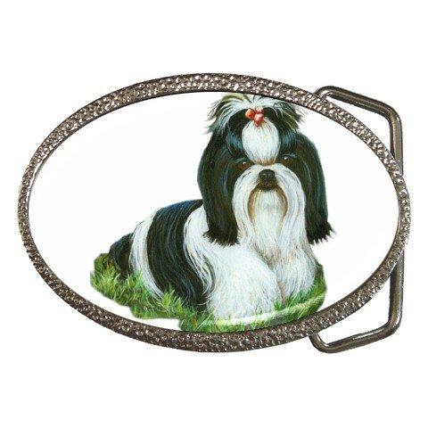 Shih Tzu Pet Lover Dog Belt Buckle 12111858