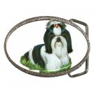 Shih Tzu Pet Lover Dog Belt Buckle 12111858