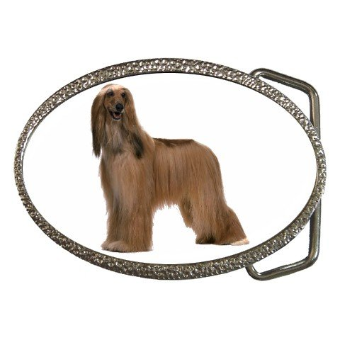 Afghan Hound Dog Belt Buckle Pet Lover 12112187