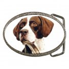Pointer Dog pet lover Belt Buckle 12125433