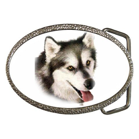 Alaskan Malamute Dog pet lover Belt Buckle 12131202