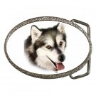 Alaskan Malamute Dog pet lover Belt Buckle 12131202