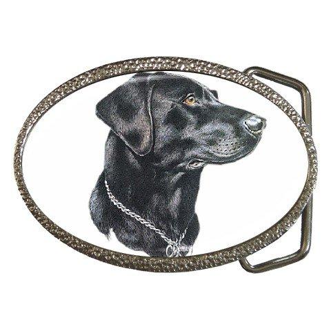 Black Lab Labrador Retriever Dog Belt Buckle Pet Lover 12135263
