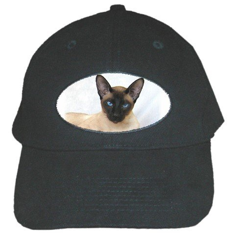Siamese Cat Pet Lover Black Cap Baseball Hat 12203162