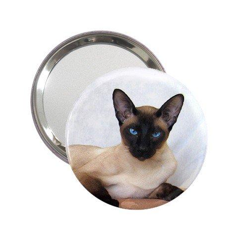Siamese Cat Pet Lover  Handbag Mirror 12203175