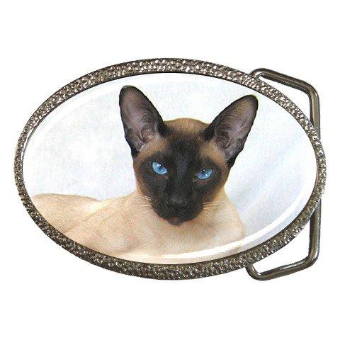 Siamese Cat Pet Lover Belt Buckle 12203182