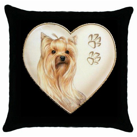 """New Dog Yorkshire Terrier Yorkie 18"""" Toss or Throw Pillow Case 14298288"""