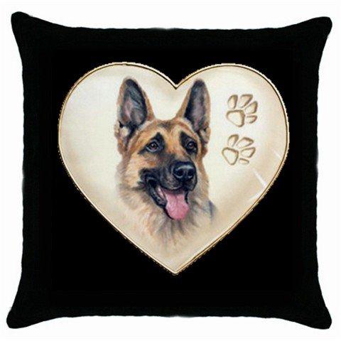 """New Dog German Sheperd 18"""" Toss or Throw Pillow Case Pillowcase 14298294"""