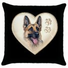 "New Dog German Sheperd 18"" Toss or Throw Pillow Case Pillowcase 14298294"