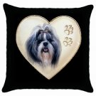 "New Shih Tzu Pillow Case Pillowcase 18"" Toss or Throw 14298299"