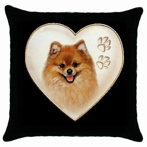 "New Dog Pomeranian 18"" Toss or Throw Pillow Case Pillowcase 14298313"