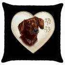 "New Dachshund Dog 18"" Pillowcase Pillow Case Toss or Throw  14298315"