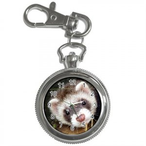 Ferret Pet Lover Key Chain Watch  17473606