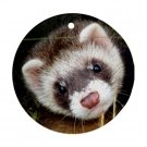 Ferret Pet Lover Ornament Round 17473594