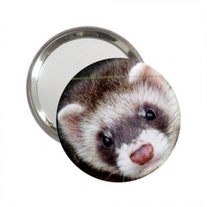 Ferret Pet Lover  Handbag Mirror 17473600