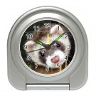 Ferret Pet Lover Travel Alarm Clock 17473626