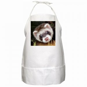 Ferret Pet Lover BBQ Apron 17473629