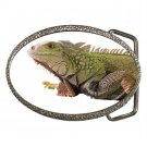 Iguana Lizard Reptile Pet Lover Belt Buckle 12239851
