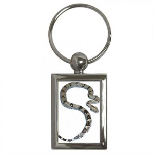 Boa Pet Lover Key Chain Rectangle 12240338