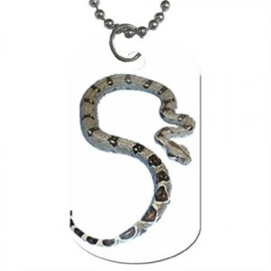 Boa Pet Lover Dog Tag Necklace Chain 12240343