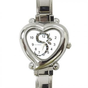 Boa Snake Reptile Pet Heart Italian Charm Watch 12240350