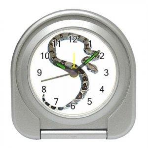 Boa Snake Reptile Pet Lover Travel Alarm Clock 12240351