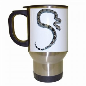 Boa Snake Reptile Pet Lover  Travel Mug White 12240358