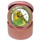 Parakeet Bird Jewelry Case Clock Pink Pet Lover  16301638