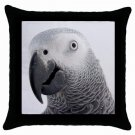 "AFRICAN GREY Bird Pet Lover Pillow Case Pillowcase 18"" Toss or Throw 17476842"