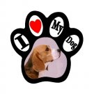 BEAGLE Dog Pet Lover Paw Print Magnet 27018390 PAEC