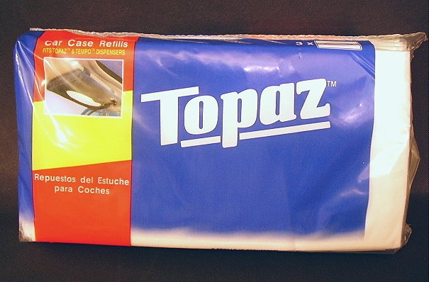 Topaz Car Visor Tissue Refills (Tempo Tissue Alternative) 48 Refills