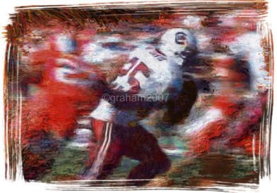 South Carolina Gamecocks Giclee Print Art Football