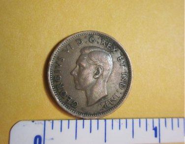 Canada 1940 1 Cent Copper Canadian Penny GEORGVIS VI D G REX ET IMP #1