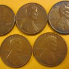 1976 Lincoln Memorial Penny 5 Pieces #4