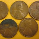 1976 Lincoln Memorial Penny 5 Pieces #5