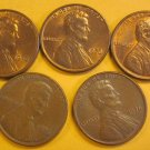 1976 Lincoln Memorial Penny 5 Pieces #8