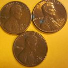 1976D Lincoln Memorial Penny 3 Pieces #6