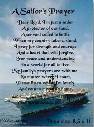 Navy Sailors Prayer   Beautiful Scenery Photography