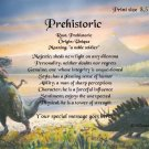 DINOSAURS #3 - PERSONALIZED 1 Name Meaning Print  - no US s/h fee