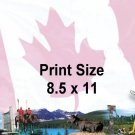 CANADA - PERSONALIZED 1  Name Meaning Print  - no US s/h fee