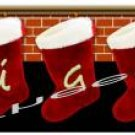 T-shirt,  Your Name on your HOLIDAY HEARTH ~ (yth xSm to Adult xLarge) Cmas stockings