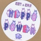 HIPPO POWER,  JAR OPENER - GET a GRIP, purple hippo's