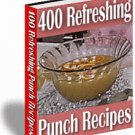 400 Refreshing Punch Recipes - Getting Ready for the HOHOlidays Spirit?
