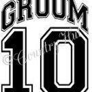 GROOM 14 - 2014  ~ (Adult 2xLarge to Adult 6xLarge) ~ WEDDING, marriage