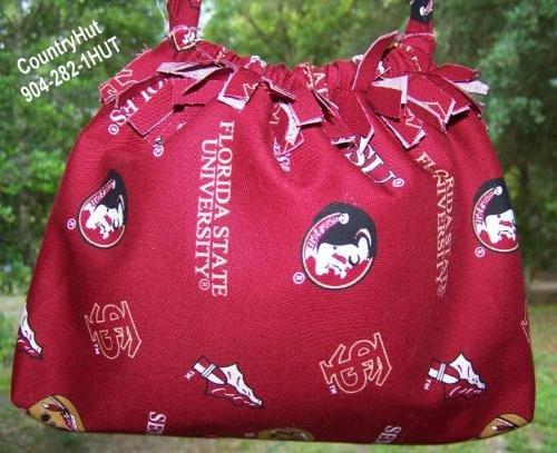 Florida State University Gift Bag - Draw string handbag
