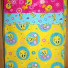 TWEETY BIRD , 1 Pillowcase - standard size, pink, blue, yellow