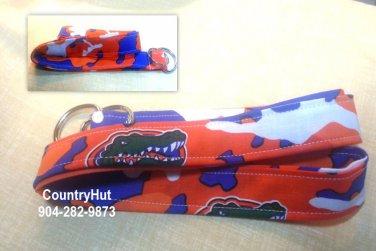 University of Florida - Gators - Camouflage - Key Holder - Handmade Lanyard - Lanyards Fob