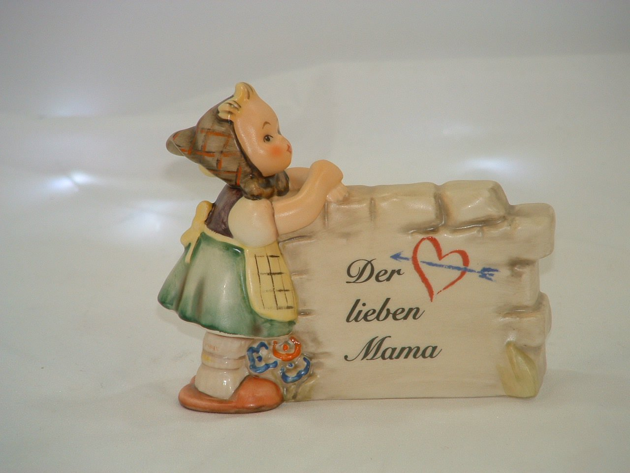 Hummel Goebel Germany Display Plaque Daydreamer in Box