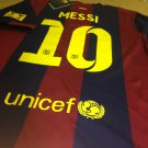 Barcelona #10 Messi jersey. size Large