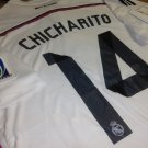 Real Madrid #14 Chicharito jersey. Size Large